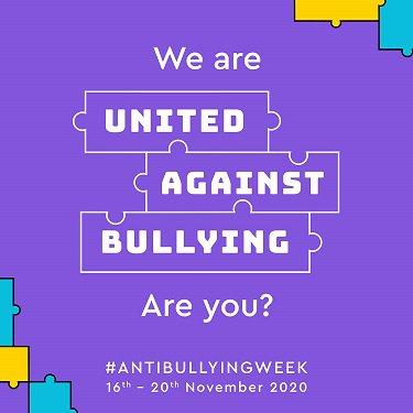 Anti Bullying week 2020 image