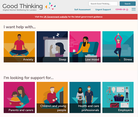 Good Thinking homepage