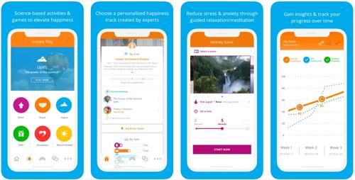 Happify app screenshot
