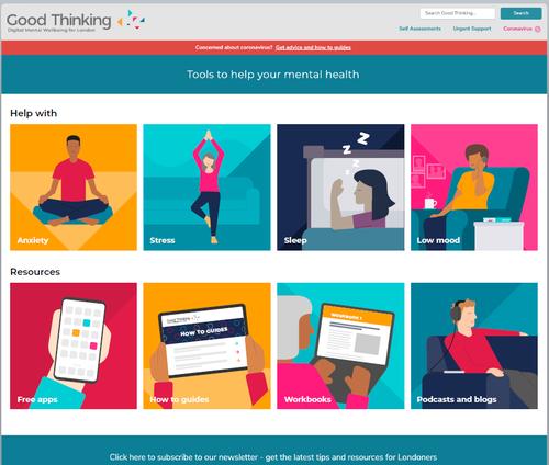 Good Thinking homepage