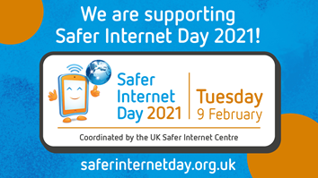 We are supporting Safer Internet Day 2021! Tuesday 9 February